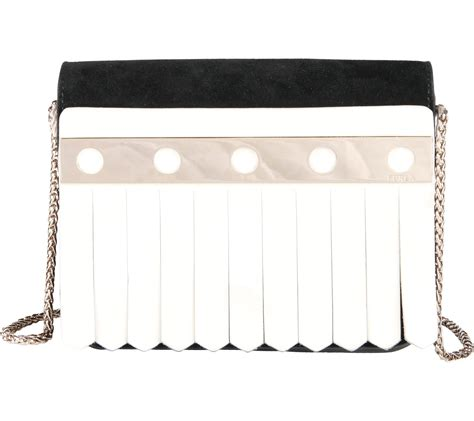 Tas Furla Agata Medium Black furla black and white clutch