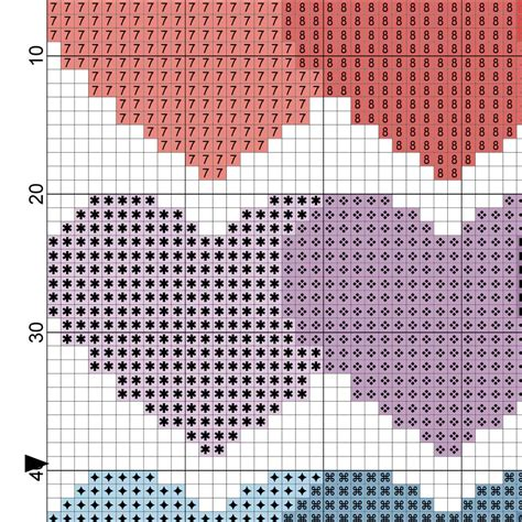 heart pattern for cross stitch heart pattern cross stitch pattern daily cross stitch