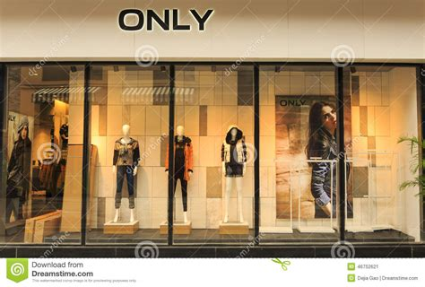 Display Apparel On Showroom Floors - boutique shop store window editorial photo image of
