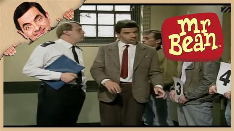 Mr Bean Line mr bean line up mr bean goes to town new