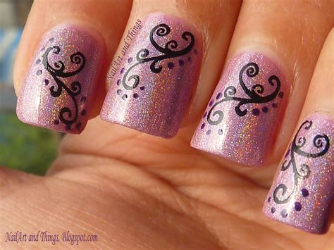 arte nails nailart and things holo hestia curvy indian nail