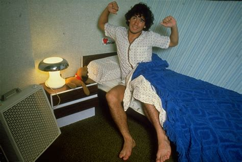 get out of bed snapshot classic a teenage diego maradona wakes up in his bedroom who ate all the pies
