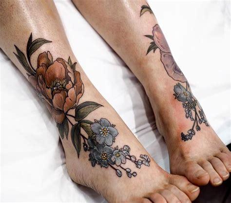 small inner thigh tattoos image result for inner calf botanical tattoos
