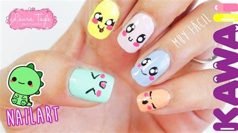 imagenes de uñas decoradas kawaii u 241 as kawaii youtube