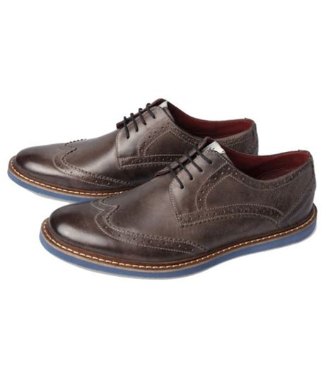 louis philippe brown formal shoes price in india buy