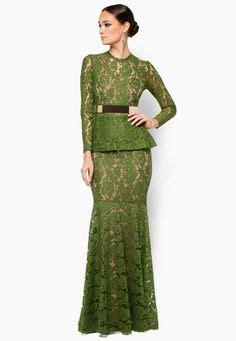 Gbr Gamis Zalora Dress jacquard motif peplum baju kurung zalora kebaya baju kurung baju kurung and