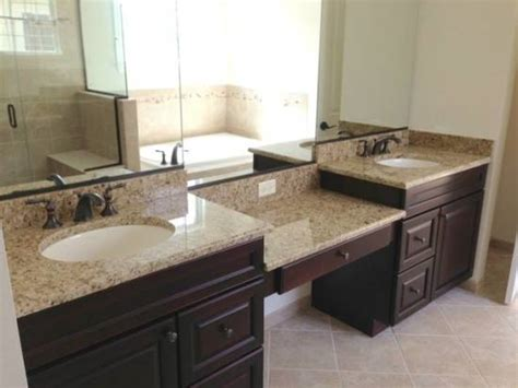 granite countertops for bathroom bathroom countertop ideas and tips ultimate home ideas