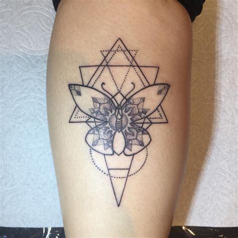 tattoo butterfly geometric geometric stipple butterfly tattoo by regina push estrada