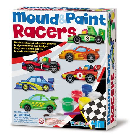 4m Mould And Paint Sealife 00 03511 racewagens gips verf kopen qiddie