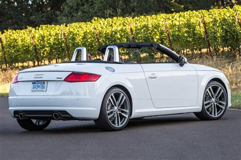 Used Audi Tt Convertible by Used 2017 Audi Tt Convertible Pricing For Sale Edmunds