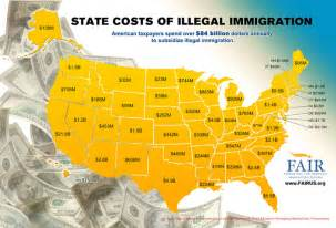 How Much Is California Here S How Much Illegal Immigration Costs Your State