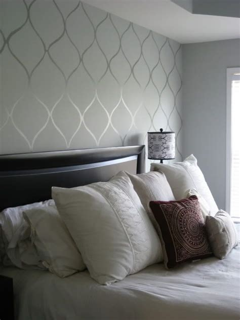 wallpaper in bedroom 25 best ideas about accent wall bedroom on pinterest