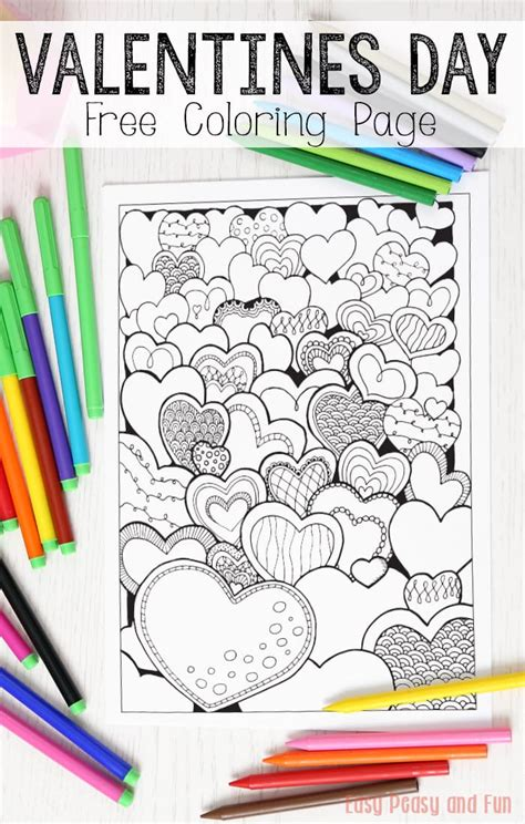 valentines gifts for coloring book as a valentines day gift for nature themed valentines day gifts for or books hearts valentines day coloring page for adults easy