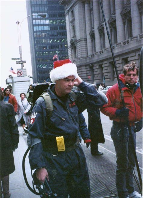 shot  site  ghostbusters celebrate christmas