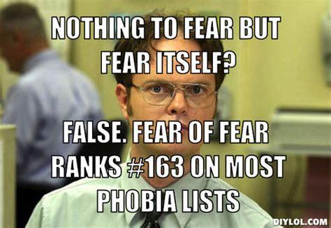 Dwight Meme Generator - phobic memes image memes at relatably com