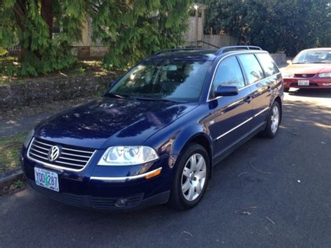 volkswagen station wagon 2002 vw passat station wagon