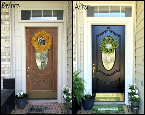 front door before and after before and after front door makeovers my web value