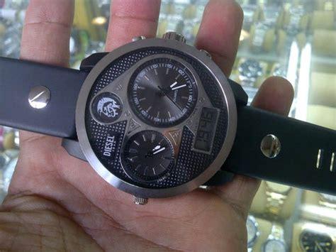 Jam Tangan Motif Navy And Stripe jam tangan pria time 5 warna jarum jam