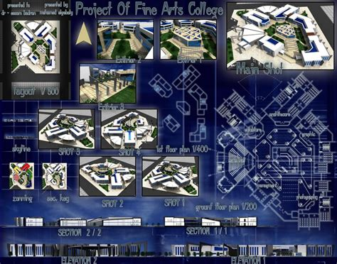 project collage template design projects graduation projects architecture projects of collage of arts
