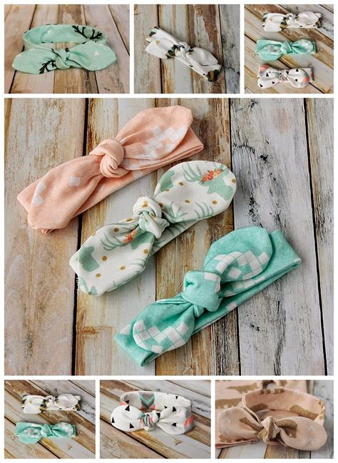 pattern for sewing headbands knot bow headband pattern and tutorial easy diy baby