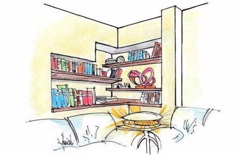 costruire una libreria a muro libreria in nicchia con mensole incassate a muro
