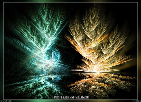 two trees of valinor by noei1984 on deviantart
