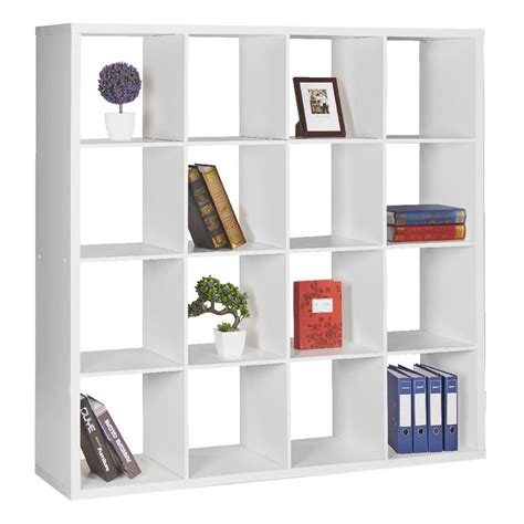 square bookshelves home design