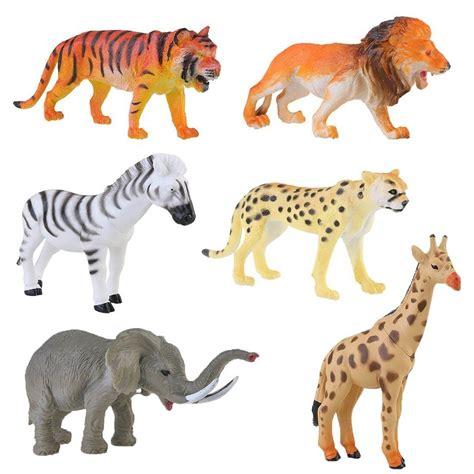 figuras geometricas de animales lchen plastic figuras animales salvajes 4inches zoo safari
