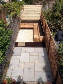 Small Paved Garden Ideas Small Garden Design Balham Garden