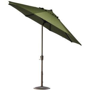 Home Decorators Collection 9 Ft Aluminum Auto Tilt Patio Garden 9 Ft Aluminum Patio Umbrella With Auto Crank