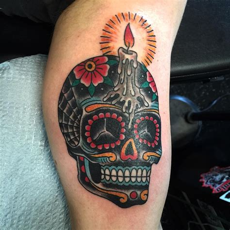101 best sugar skull tattoo design ideas spooky amp sweet