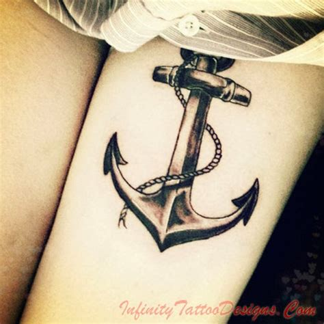 unique anchor tattoos unique ideas 25 anchor designs