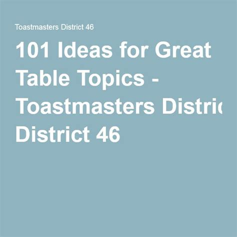 toastmasters table topics 25 best ideas about table topics on conversation ideas great conversation starters