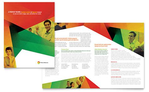 sle layout design newsletter business brochures sles