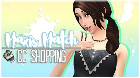 sims 4 cc shopping the sims 4 cc shopping 3 accessories makeup more