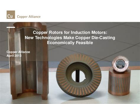 induction motor with copper rotor introduction to copper rotor induction motors