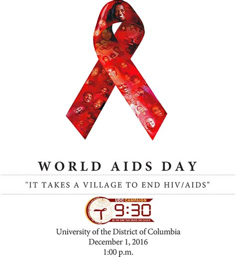 world aids day 2016 world aids day 2016 university of the district of columbia