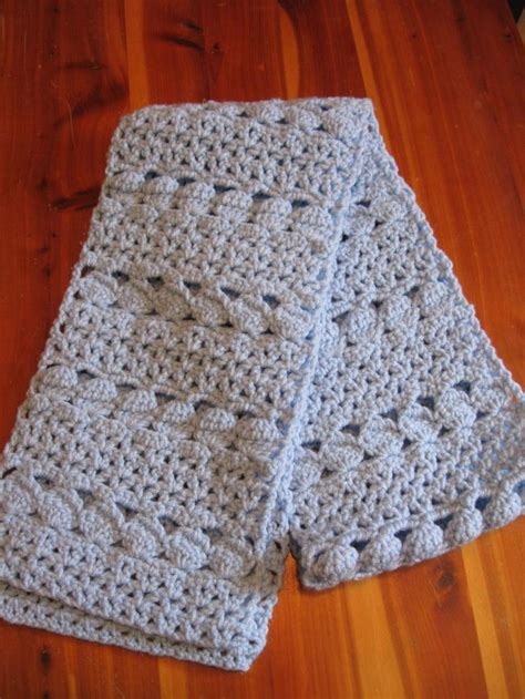 stylish easy crochet scarf for the knit box