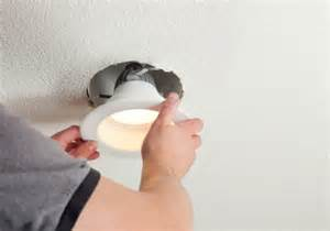 installing lights recessed can light fixtures and hazards 9