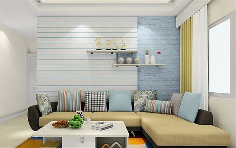 20 trending wallpaper designs for living room   Quotemykaam