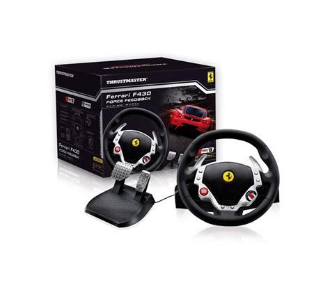 volante f430 thrustmaster volante f430 feedback pc