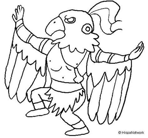 imagenes para maya 3d dibujo de brujo maya para colorear dibujos net