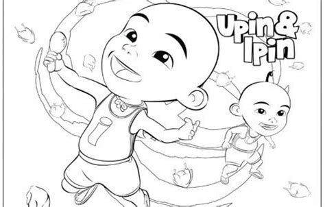 coloring book upin ipin 8 best upin ipin images on coloring