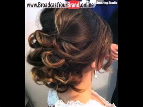 hair soft curl enhancer for fine hair low loose curly updo for medium hair youtube