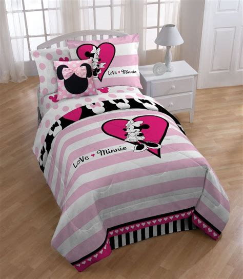 minnie mouse bedding set disney minnie mouse bedding set home design garden