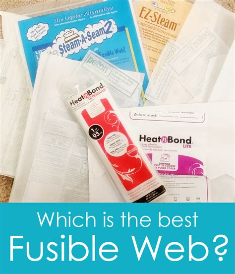 finding the best fusible web out there sweetbriar sisters