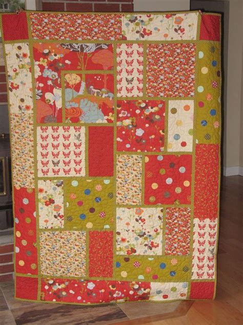 Large Quilt Pattern by Best 25 Big Block Quilts Ideas On Easy Quilt