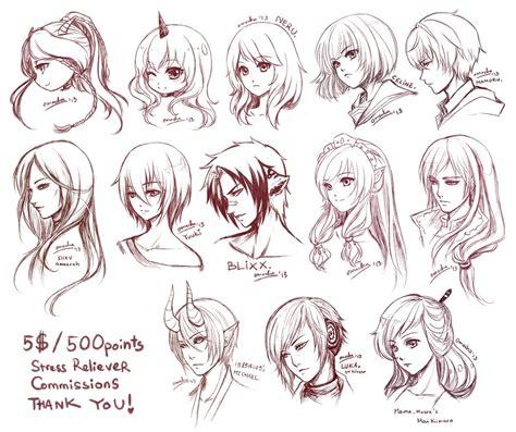 manga hairstyle short long front sides src batch2 by zenithomocha on deviantart