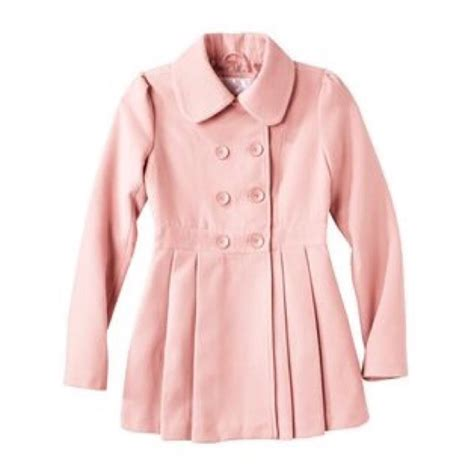 light pink pea coat pale pink pea coat han coats