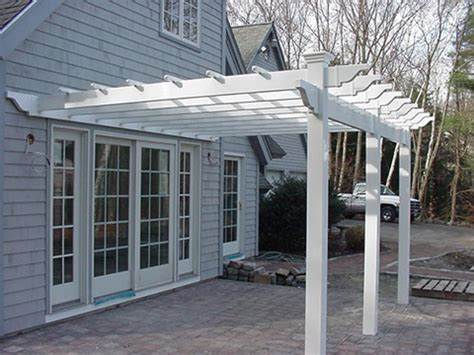attached pergola kits pergola design ideas attached pergola kits simple white stained design modern house